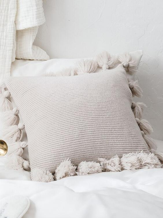 Bungalow Cushion Cover | CREME - Boho Buys
