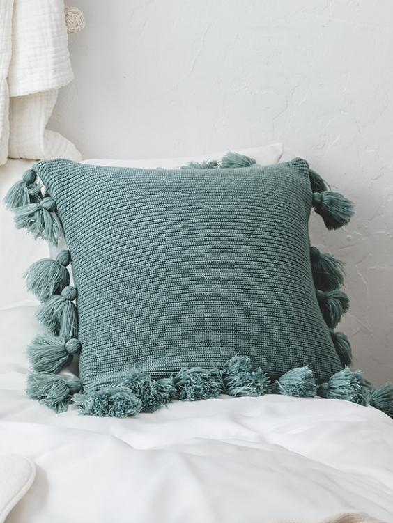 Bungalow Cushion Cover | EUCALYPTUS - Boho Buys