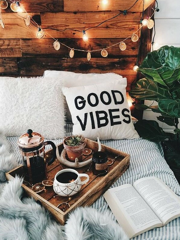 Good Vibes Cushion Cover - Boho Buys
