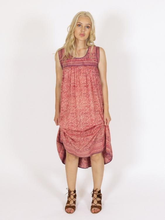 EYES ON FLOYD Hazel Cotton Dress - Boho Buys