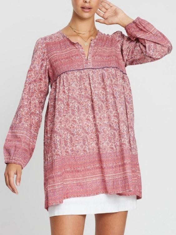EYES ON FLOYD Hazel Cotton Top - Boho Buys