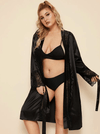 PLUS SIZE Jinx Satin Robe | ONE LEFT - Boho Buys