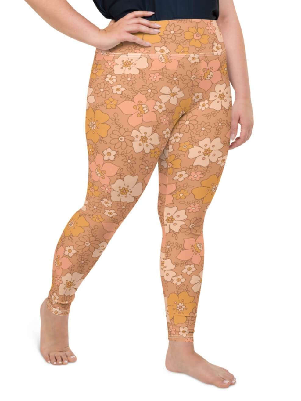 Plus Size Peachy Keen Leggings - Boho Buys