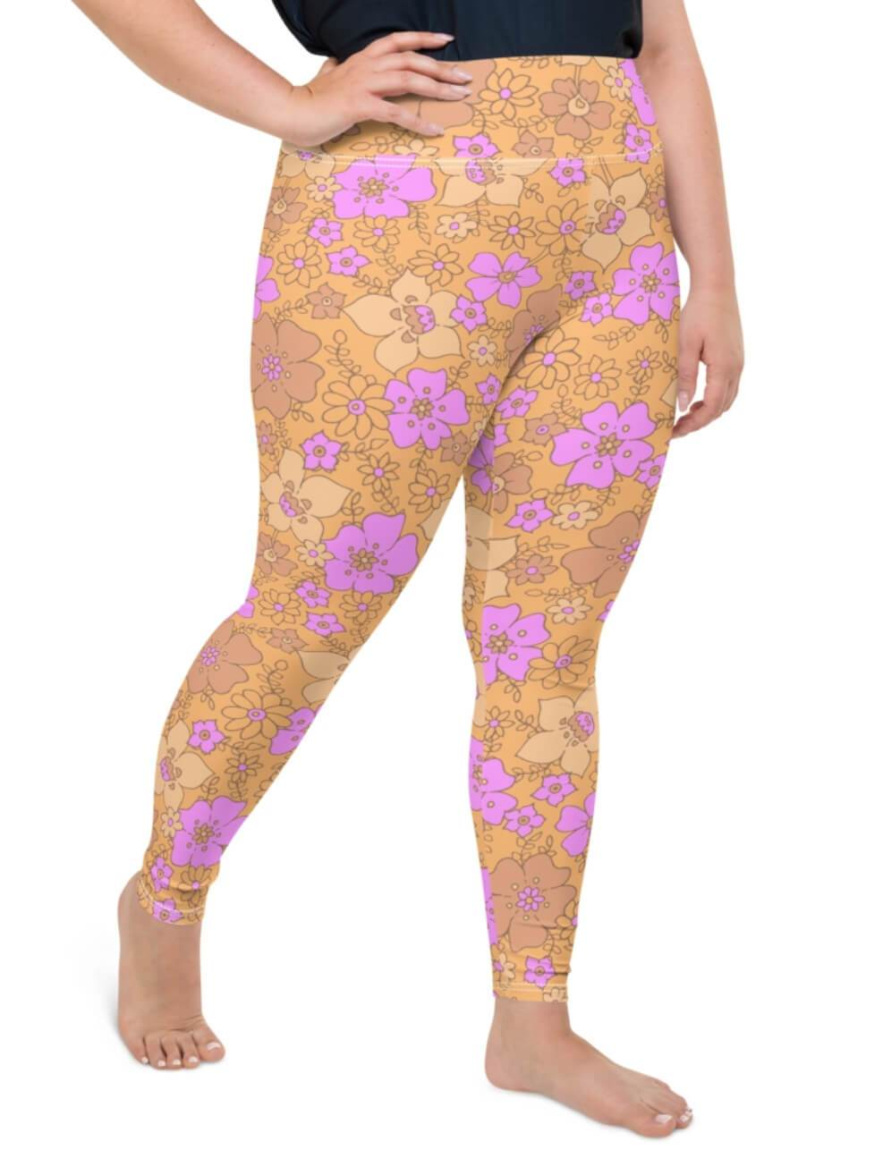 Plus Size Butter Cream Leggings - Boho Buys