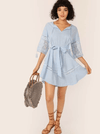 Twisted Sister Cotton Dress - Boho Buys
