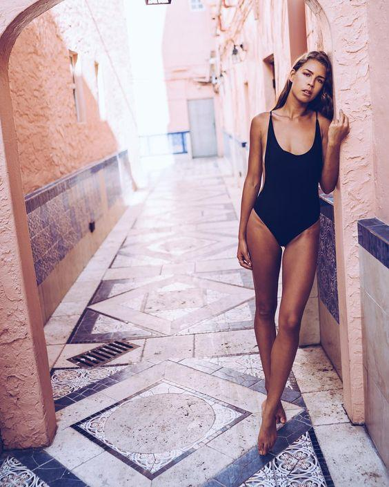 Tyra One Piece | Black - Boho Buys