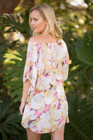 Barbados Printed Kaftan | TWO LEFT