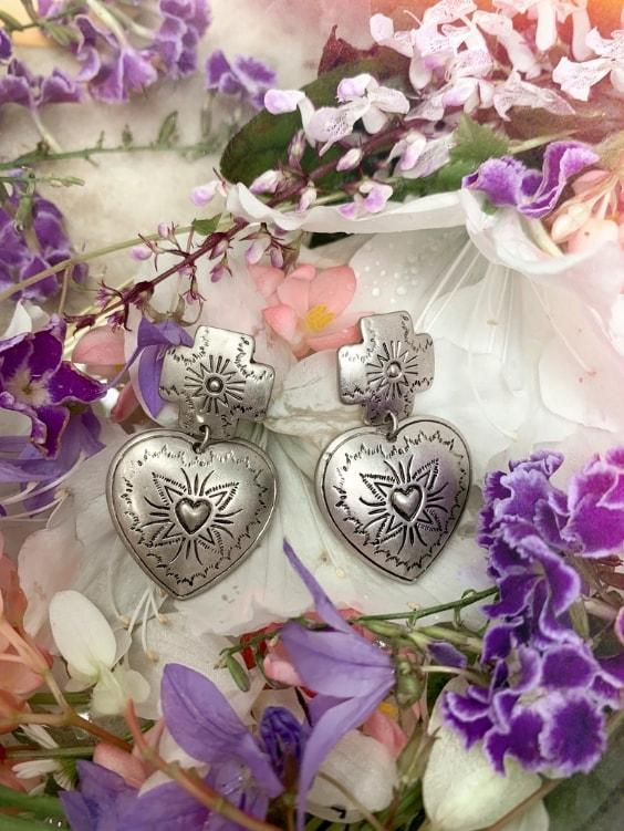 Heart You Earrings | SILVER - Boho Buys