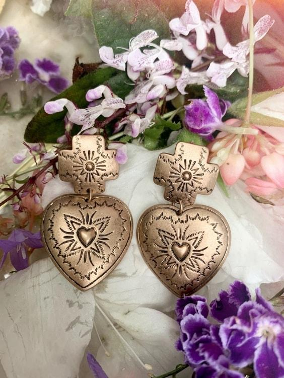 Heart You Earrings | GOLD - Boho Buys