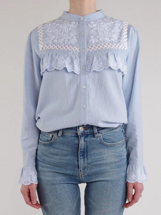 Gabrielle Cotton Blouse - Boho Buys