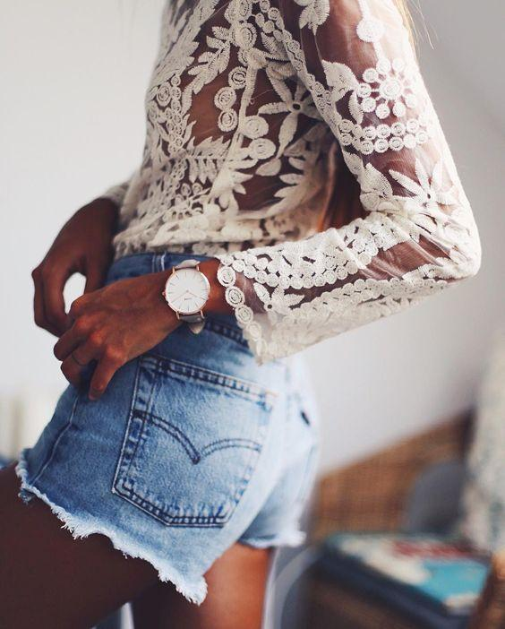 Palawan Cream Lace Top - Boho Buys