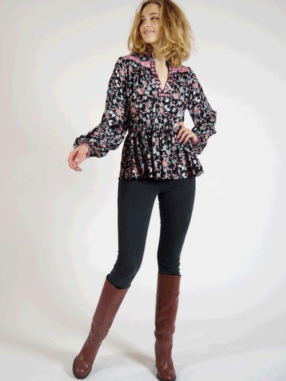 Mystic Peplum Top - Boho Buys