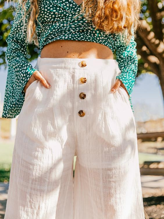 Suki Cotton Pants - Boho Buys
