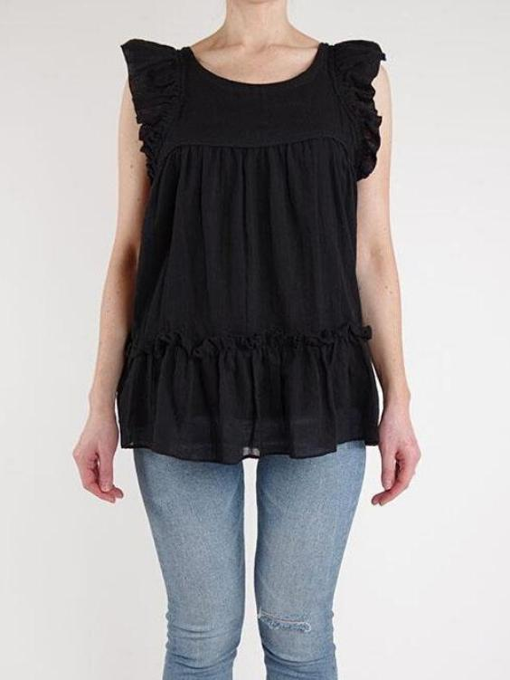 EYES ON FLOYD Wisteria Cotton Top - Boho Buys