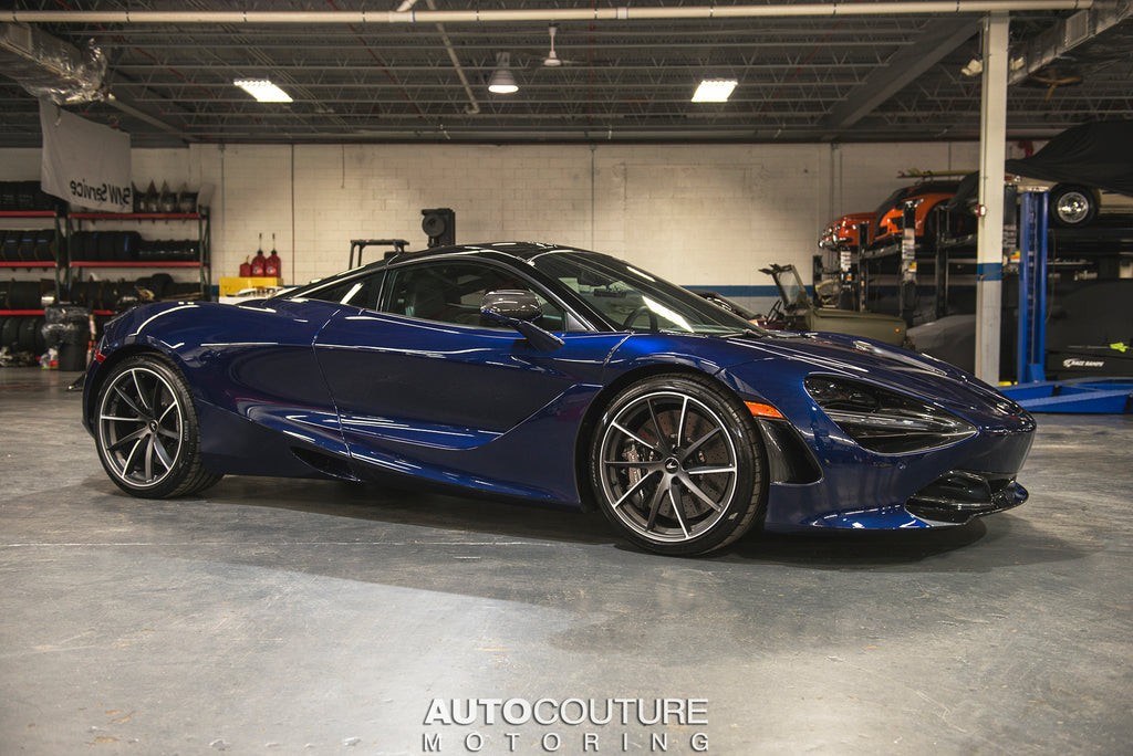 McLaren 720S paint correction full ppf and ceramic coating at our detail shop