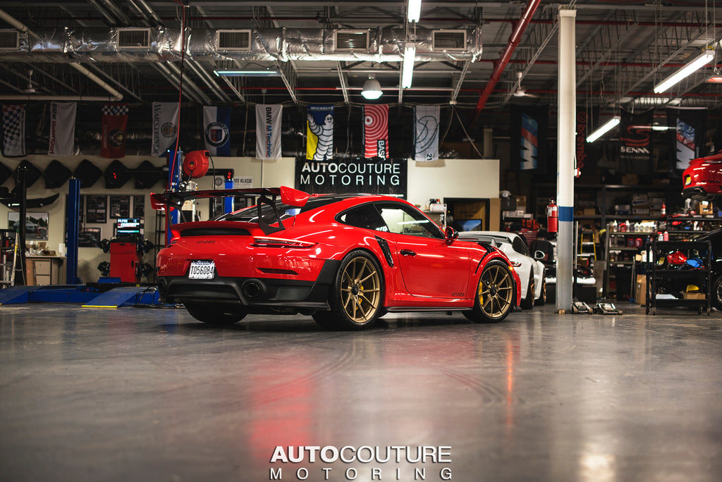 Ceramic coating and paint protection film PPF Porsche 991.2 GT2RS at the Detail Shop in New Jersey