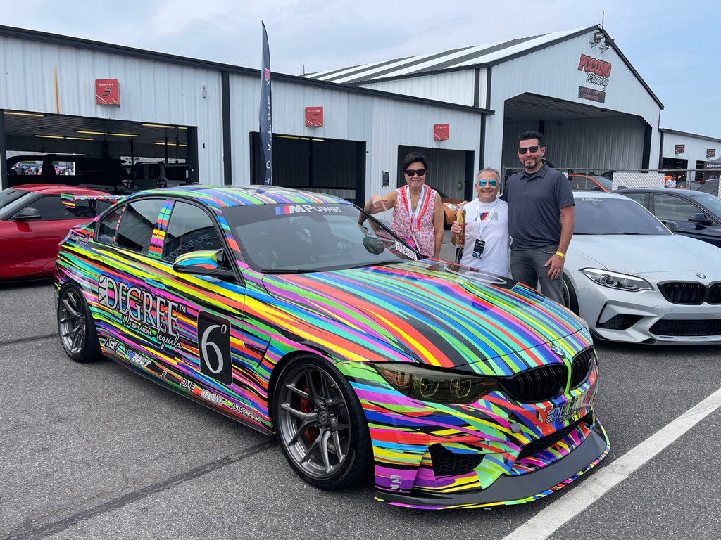 6 DEGREE TEQUILA art car AUTOcouture Motoring