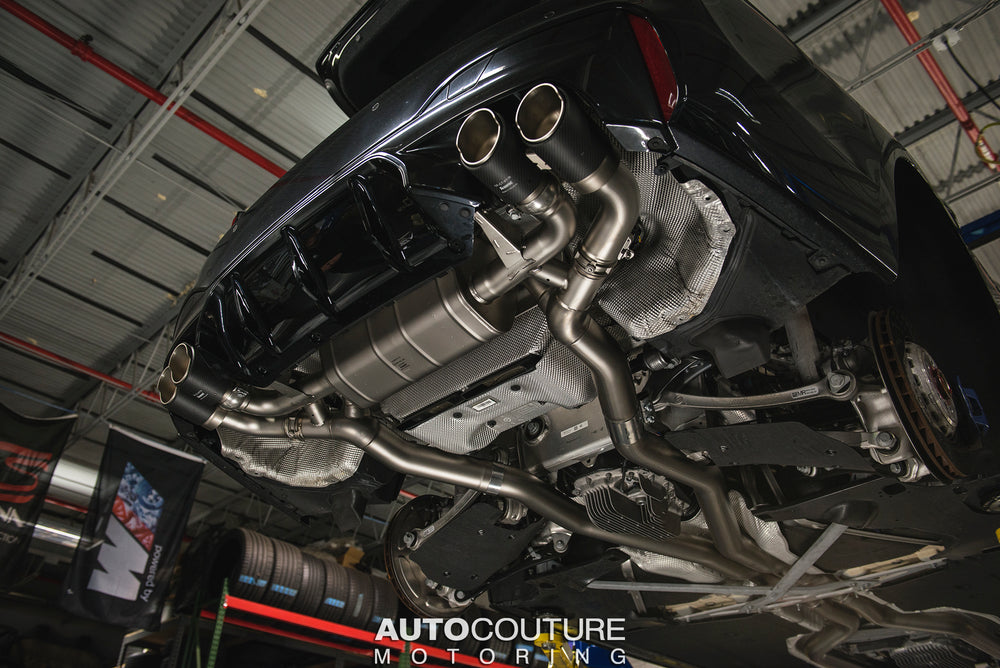 Akrapovic 18+ BMW M5 (F90) Evolution Line Cat Back (Titanium) (Req. Tips)