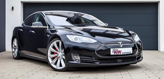 KW DDC ECU with HLS 4 Tesla Model S P90D (AWD) 12-20 - AUTOcouture Motoring - Suspension - KW