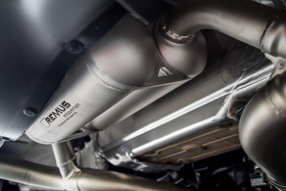 Remus Axleback Racing Exhaust System Toyota GR|A90 Supra 20+ - AUTOcouture Motoring - Exhaust - Remus