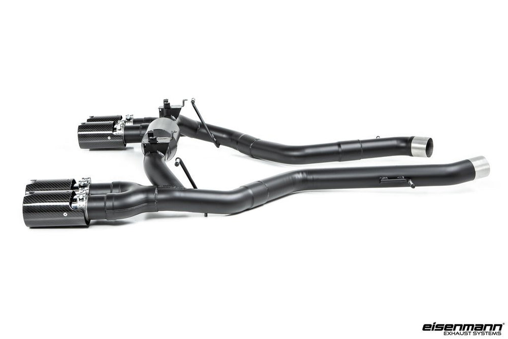 Eisenmann F87 M2 Competition Black Series Performance Exhaust + Carbon Tip Set - Race - AUTOcouture Motoring - Exhaust - Eisenmann