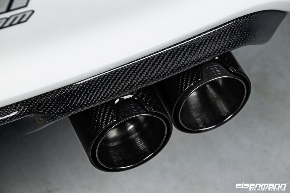 Eisenmann F87 M2 Performance Exhaust + 4x90mm Carbon Tip Set - AUTOcouture Motoring - Exhaust - Eisenmann
