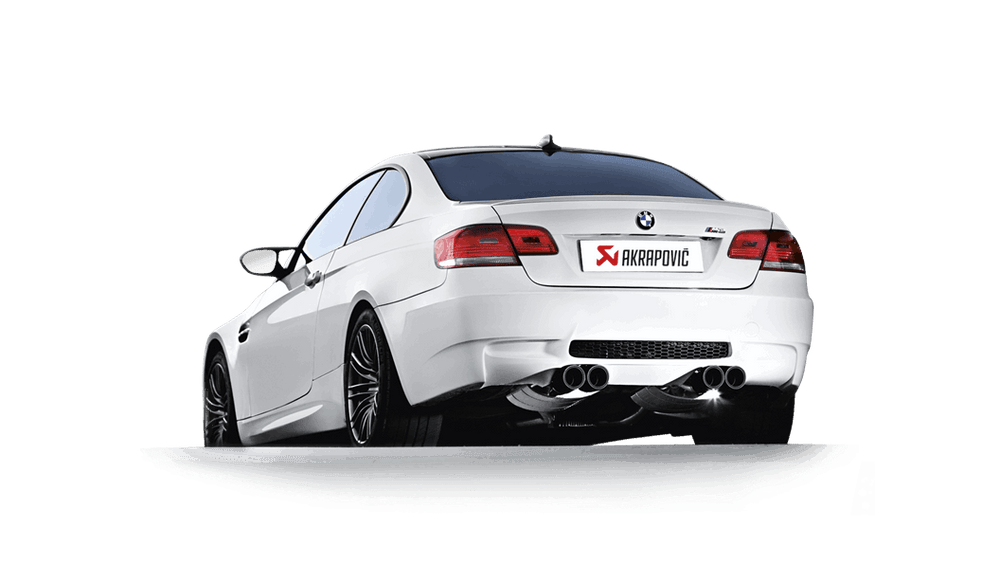 Akrapovic 07-13 BMW M3 (E92 E93) Evolution Line w/ Cat (Titanium) - AUTOcouture Motoring - Exhaust - Akrapovic