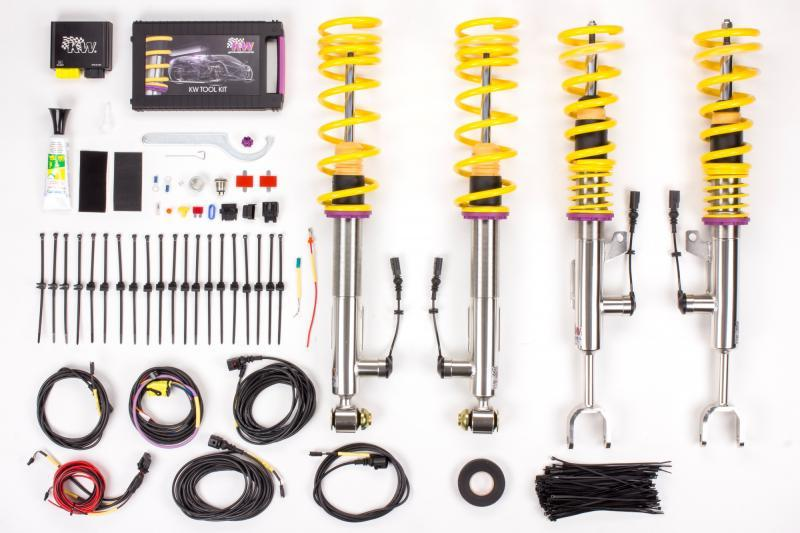 KW Coilover Kit DDC ECU BMW M3 & M4 F8X with EDC - AUTOcouture Motoring - Suspension - KW