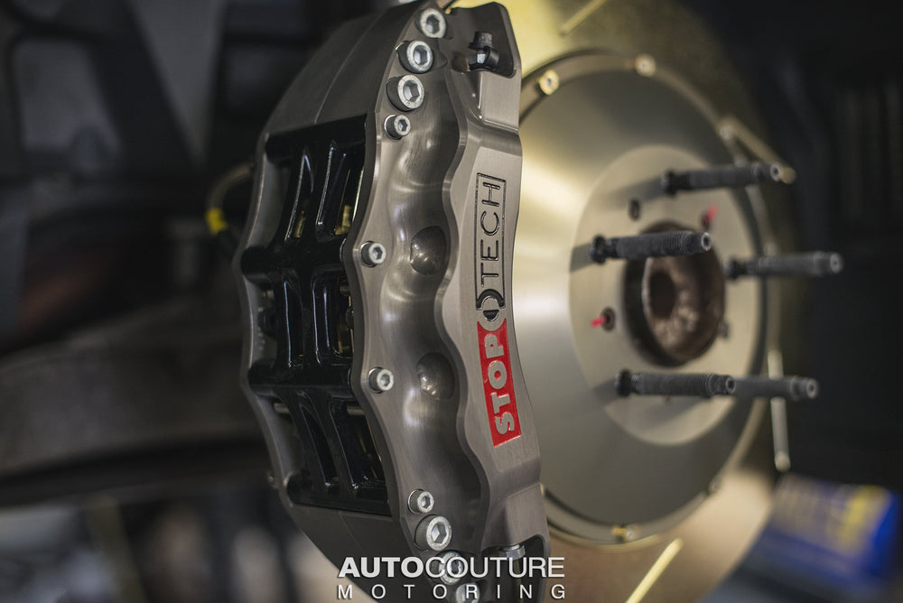 StopTech 08-13 BMW M3 (E9X) Front Big Brake Kit ST-60 Trophy Calipers 380x35mm Rotors - AUTOcouture Motoring - Brakes - Stoptech