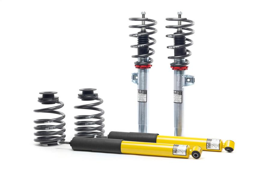 H&R 01-06 BMW M3 E46 Street Performance Coilover - AUTOcouture Motoring - Suspension - H&R