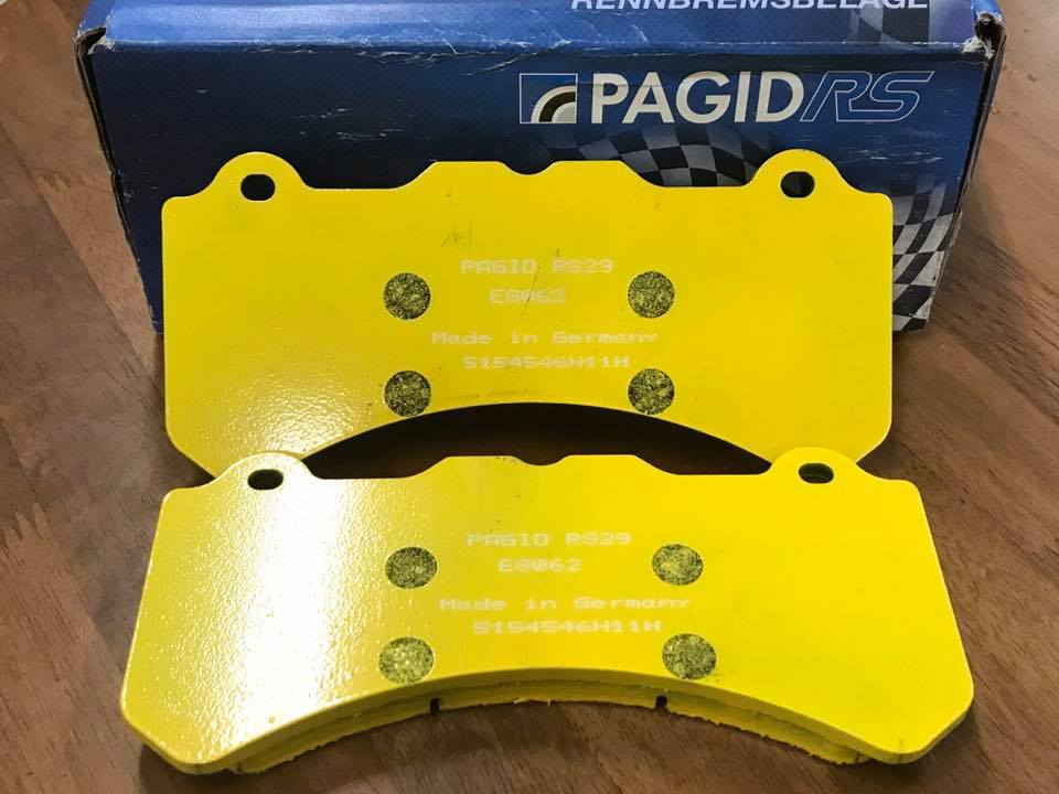 Pagid RS 29 Yellow Rear Brake Pads Lamborghini Gallardo 04+ - AUTOcouture Motoring - Brakes - Pagid