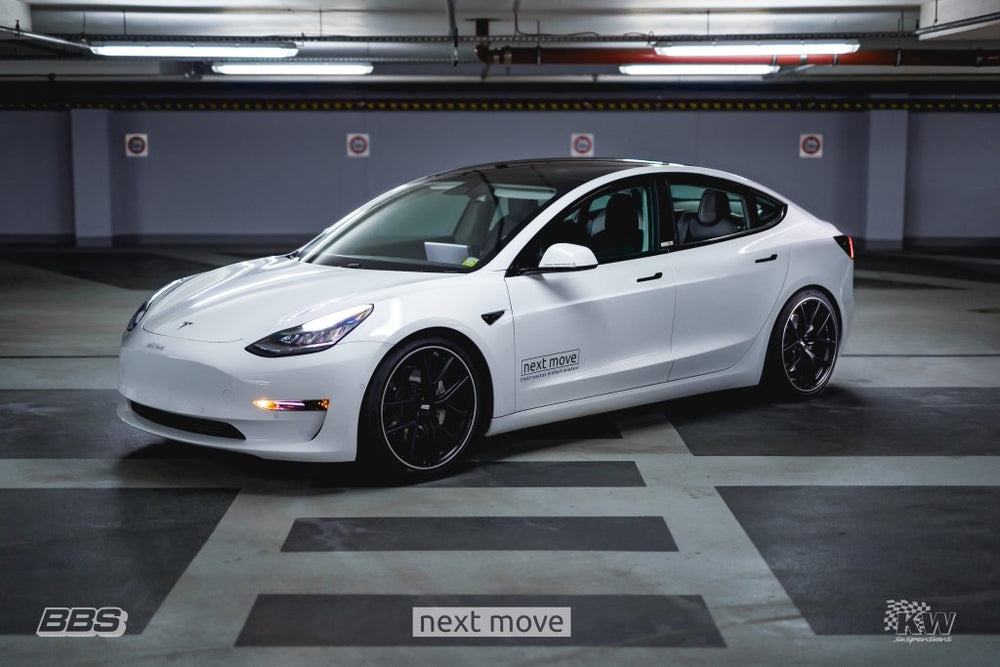KW Coilover Kit V3 18-19 Tesla Model 3 AWD - AUTOcouture Motoring - Suspension - KW