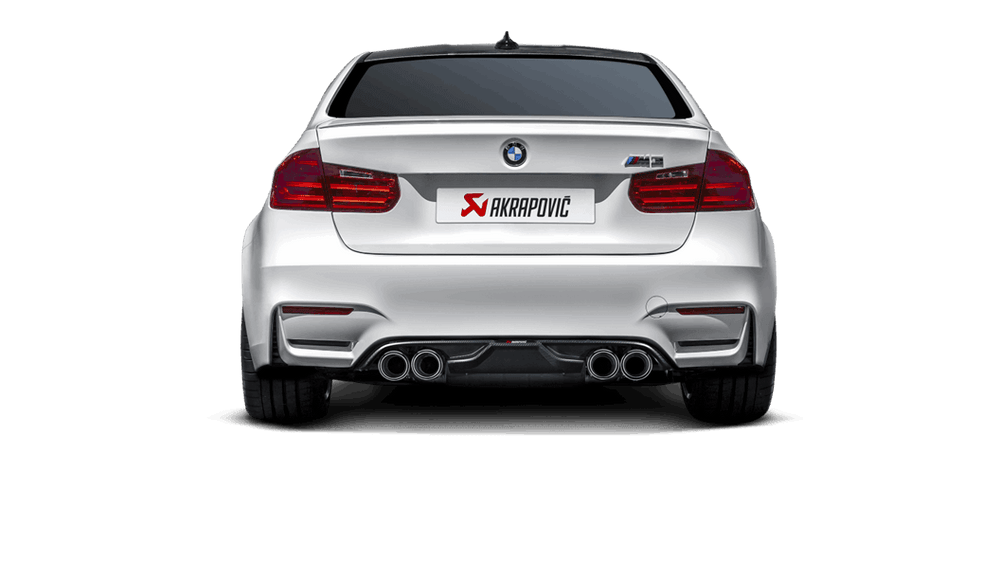Akrapovic 14-17 BMW M3/M4 (F80/F82) Slip-On Line (Titanium) (Req. Tips) - AUTOcouture Motoring - Exhaust - Akrapovic