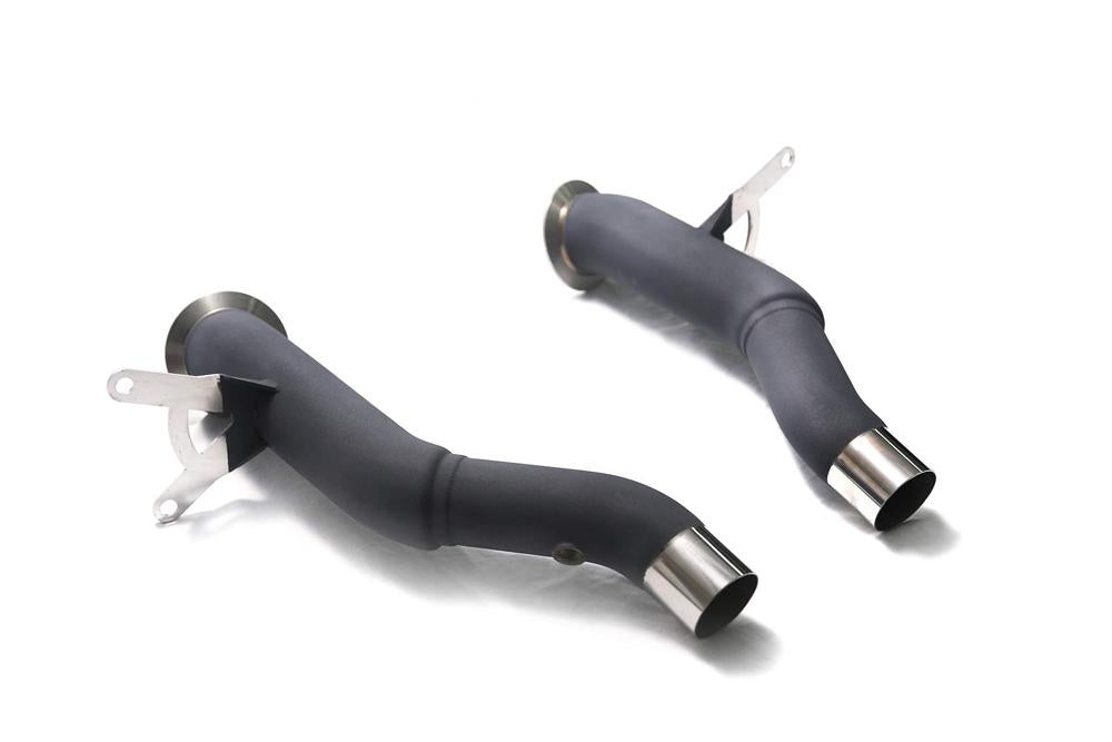 ARMYTRIX High-Flow Race Downpipe Ferrari 458 Italia | Spider 2010-2015 - AUTOcouture Motoring - Exhaust - ARMYTRIX