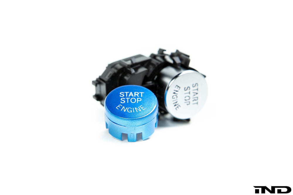 IND A90 Supra Replacement Blue Start / Stop Button - AUTOcouture Motoring - Interior - IND