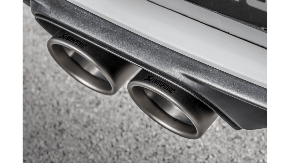 Akrapovic 2018 Porsche 911 GT3 RS (991.2) Tail Pipe Set (Titanium) - AUTOcouture Motoring - Exhaust - Akrapovic