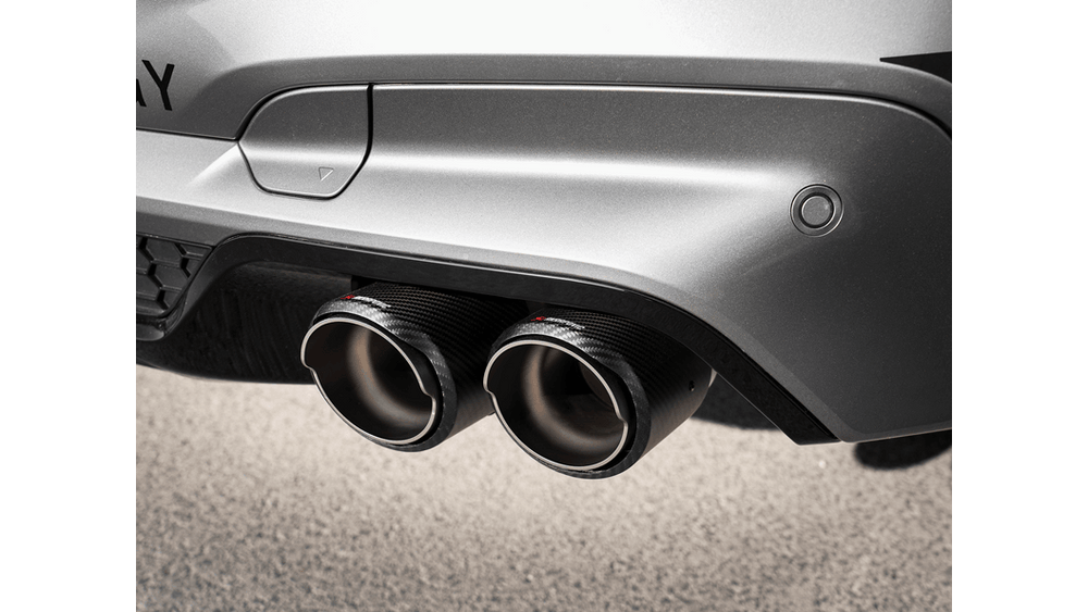 Akrapovic 2020+ BMW X3M / X3M Competition (F97) Tail Pipe Set (Carbon) - AUTOcouture Motoring - Exhaust - Akrapovic