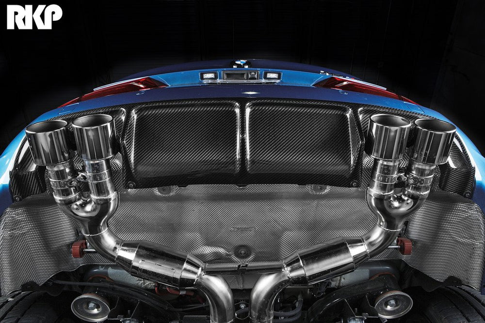 RKP F85 X5M Carbon Rear Diffuser - AUTOcouture Motoring - Exterior - RKP