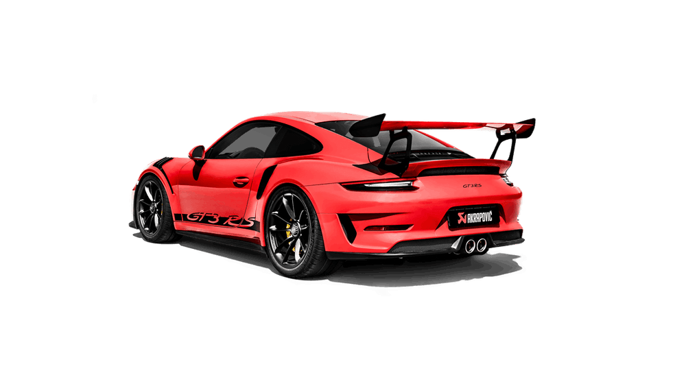 Akrapovic 2018 Porsche GT3 RS (991.2) Slip-On Line (Titanium) (Req. Tips) - AUTOcouture Motoring - Exhaust - Akrapovic