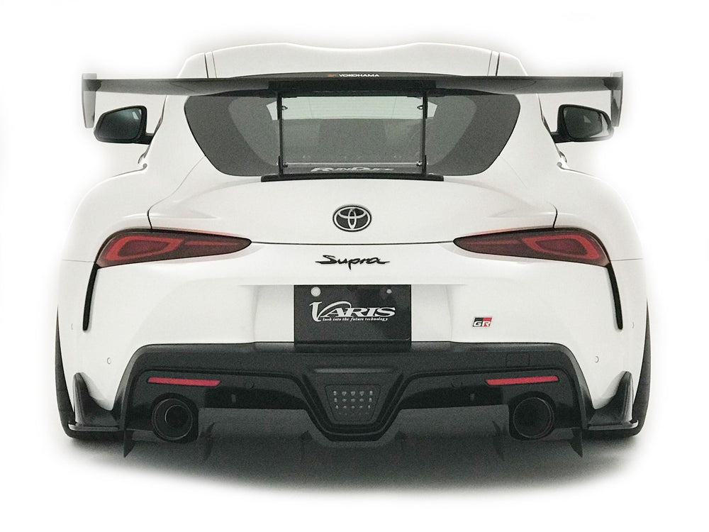 Varis Arising-I Rear Shroud (Carbon) - Toyota Supra A90 2020+ - AUTOcouture Motoring - Exterior - Varis