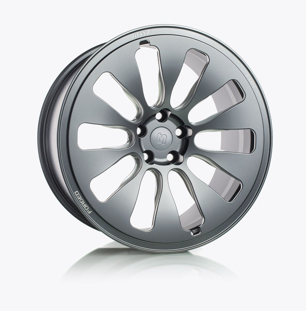 Titan 7 T-LD1 (Set of Four Wheels) - 20x8.5 / +35 / 5x114 for Tesla Model 3 - AUTOcouture Motoring - Wheels - Titan 7