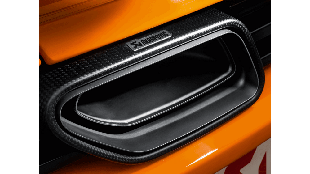 Akrapovic 12-14 McLaren 12C/12C Spyder Slip-On Line (Titanium) w/ Carbon Tips - AUTOcouture Motoring - Exhaust - Akrapovic
