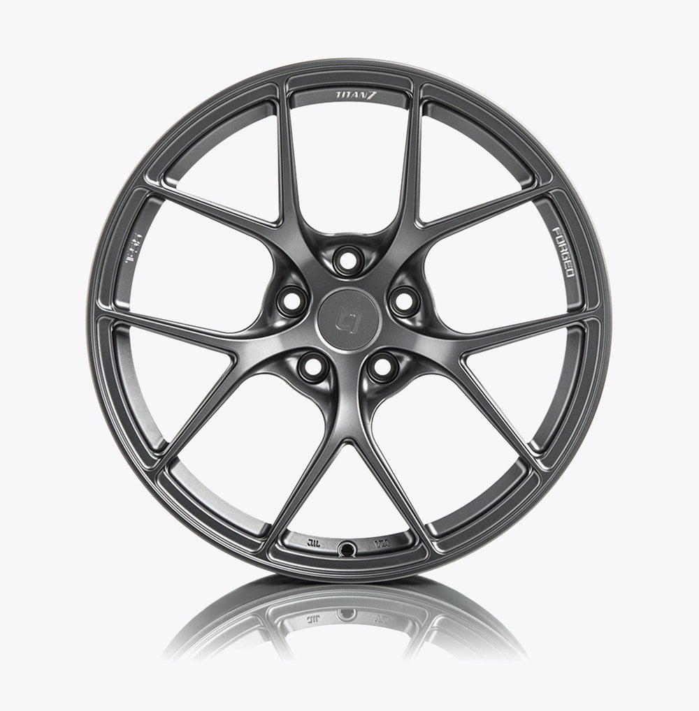 Titan 7 T-S5 (Set of Four Wheels) - 19x8.5 / +40 / 5x114 for Tesla Model 3 - AUTOcouture Motoring - Wheels - Titan 7
