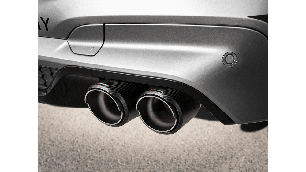 Akrapovic 15-17 BMW X5M and X6M (F8X) Evolution Line Cat Back (Titanium) w/ Carbon Tips - AUTOcouture Motoring - Exhaust - Akrapovic