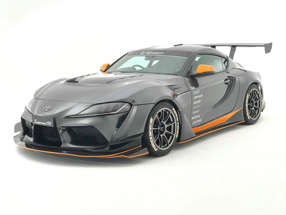 Varis Supreme Widebody Kit (FRP & Carbon) - Toyota Supra A90 2020+ - AUTOcouture Motoring - Exterior - Varis