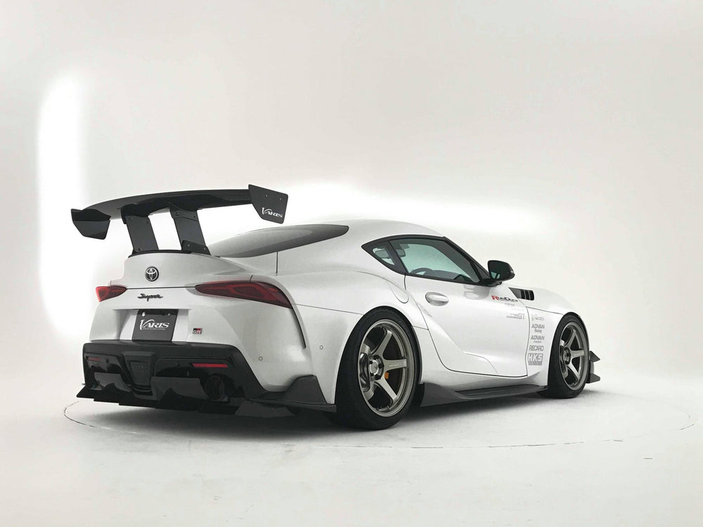 Varis GT-Wing with Mount Bracket for Street II (1520mm, Carbon) - Toyota Supra A90 2020+ - AUTOcouture Motoring - Exterior - Varis