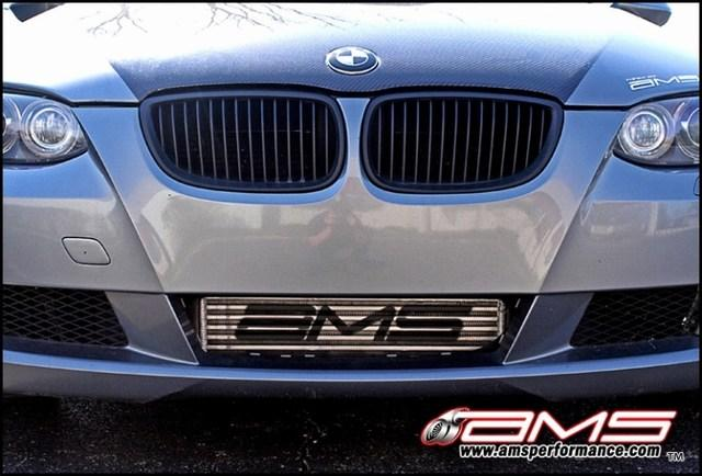 AMS Performance 06-09 BMW 335i (E90/E92/E93) Intercooler Kit w/Logo - AUTOcouture Motoring - Engine - AMS