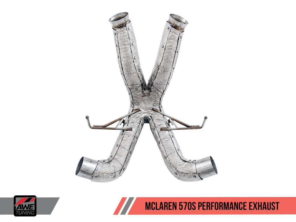 AWE Tuning McLaren 570S/570GT Performance Exhaust - AUTOcouture Motoring - Exhaust - AWE Tuning