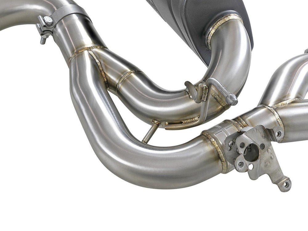aFe MACHForce XP 3in to 2.5in Down Pipe Back Exhaust 304SS 2019 BMW M2 Competition L6-3.0L (tt) - AUTOcouture Motoring - Exhaust - aFe
