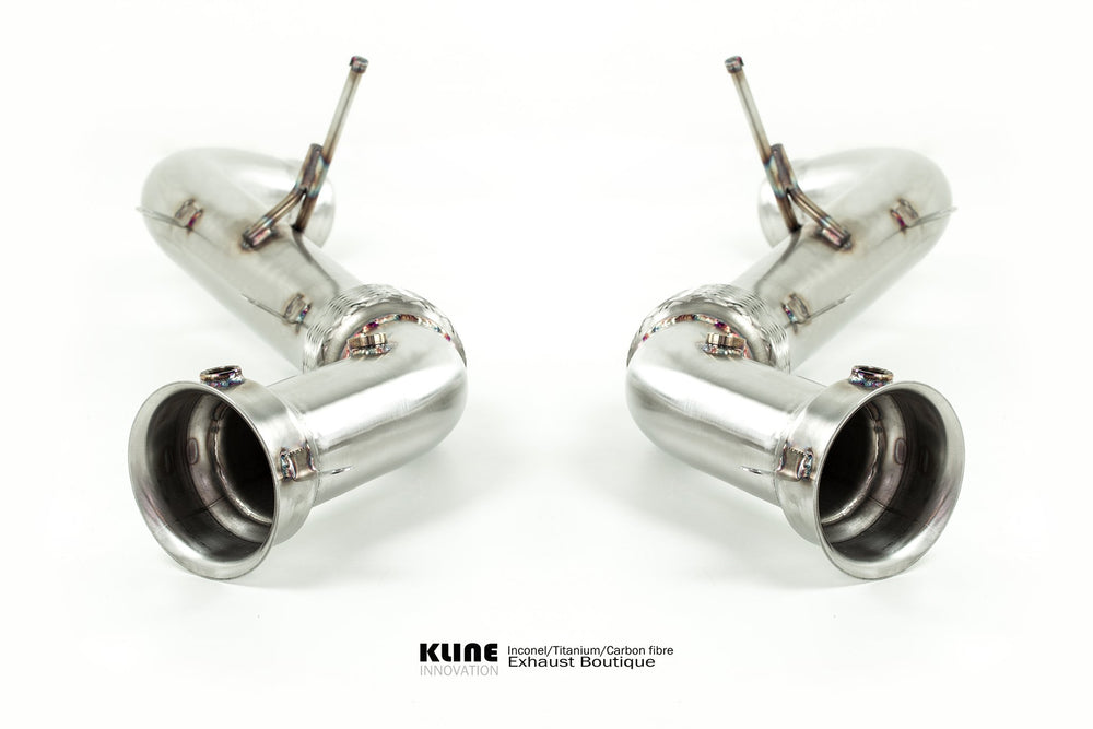 Kline Innovation Stainless Steel Race Pipes McLaren 12C | 570S | 650S - AUTOcouture Motoring - Exhaust - Kline